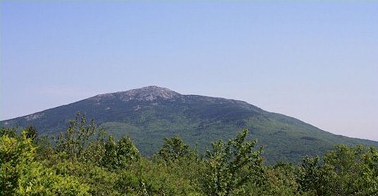 Monadnock from Gap Mountain Photo