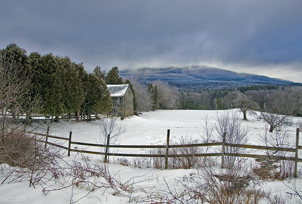 Monadnock Pastoral in Winter Photo