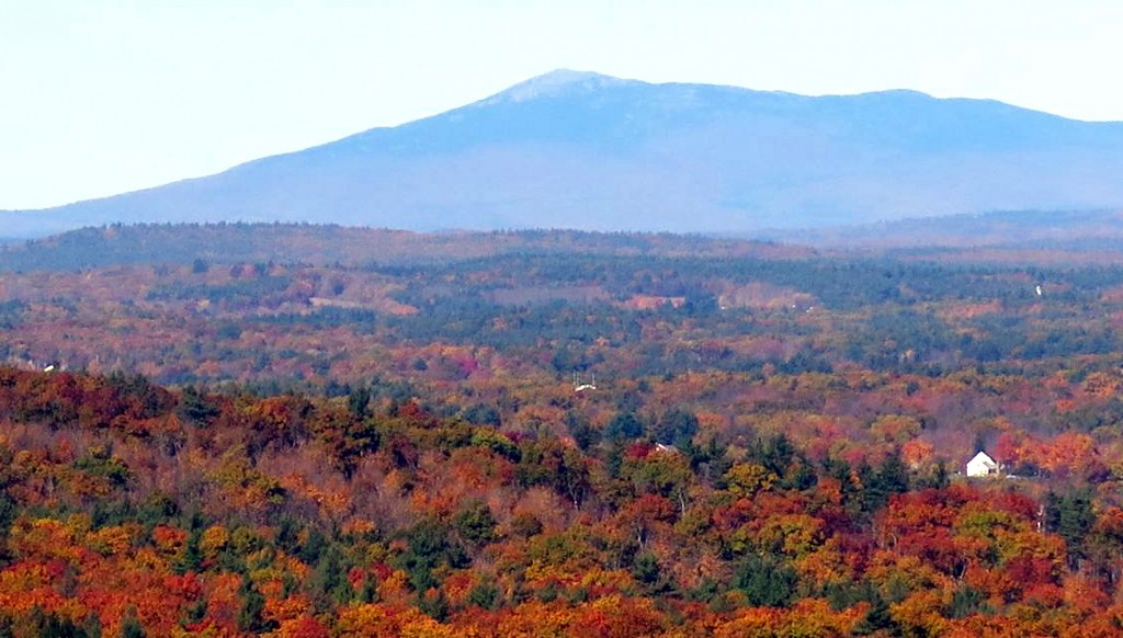 Monadnock from Wachusett by Clair Degutis