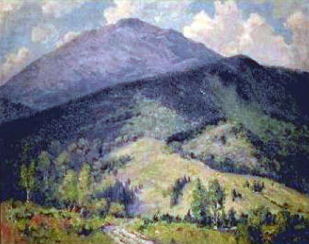 Mount Monadnock / Painting by Charles Curtis Allen, Fitzwilliam, N.H. library