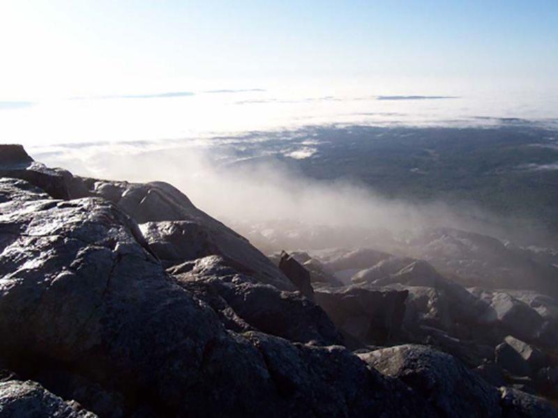 Monadnock Fog Photo