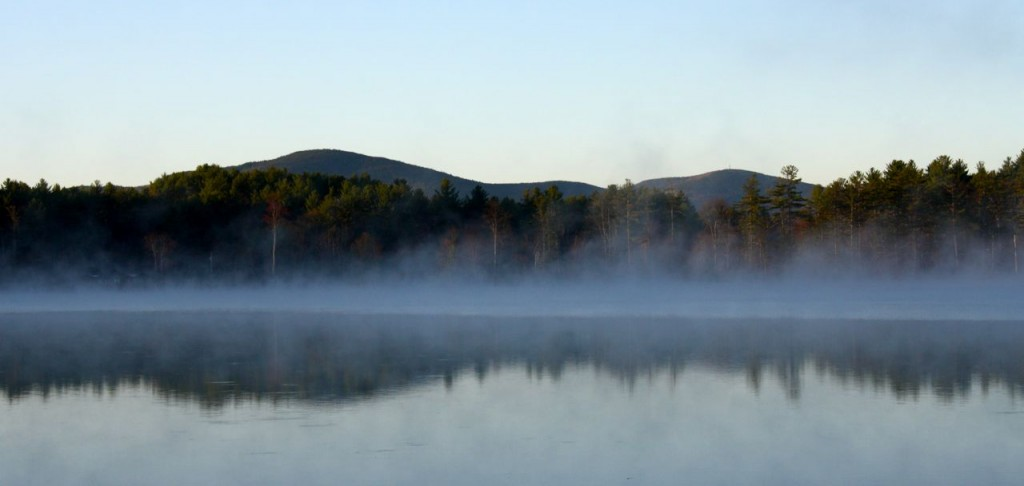 MPPR 2013 morning mist Otter Lake