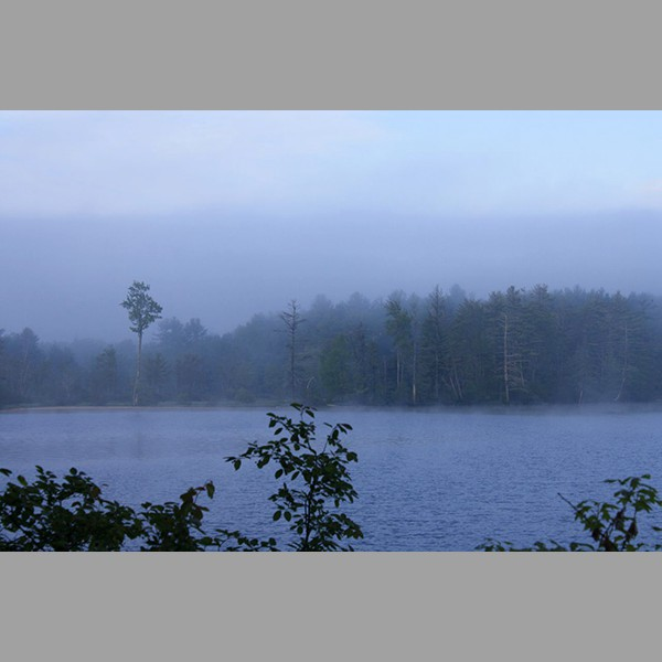 Early Morning Mist Otter Lake