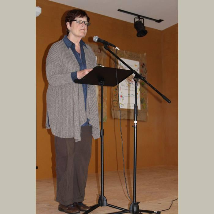 RETREAT 2016: Pam Bernard reading