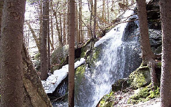 Chamberlain Falls (vernal), Mead Brook Photo