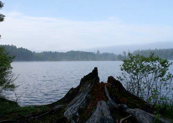 Otter Lake in the Morning . Photo by Clair Degutis