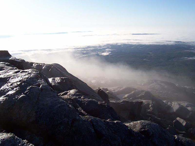 Monadnock Fog Photo