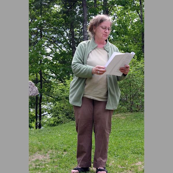 Susan Roney-O'brien, Reads Her Work