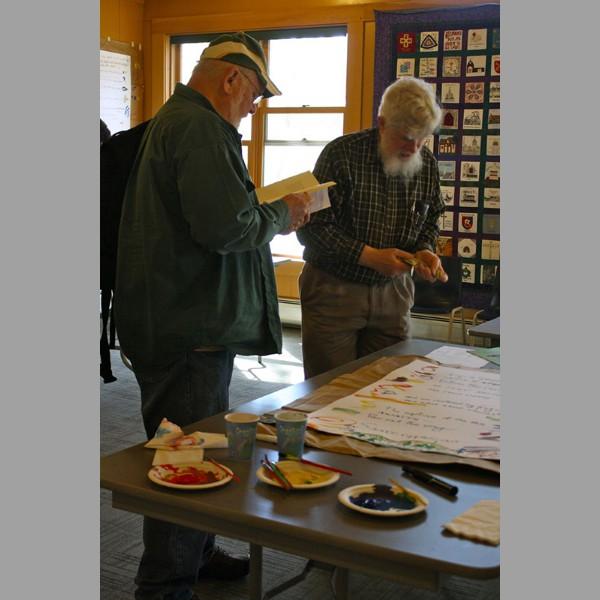 Jim Beschta and Dan Lewis