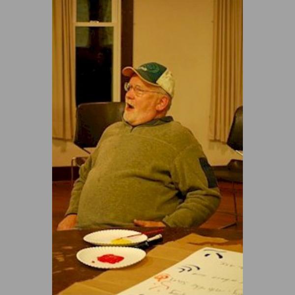Jim Beschta takes a break.