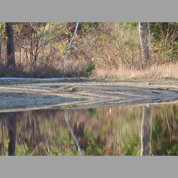 2015 Retreat: lake reflection